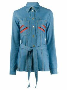 Victoria Victoria Beckham denim shirt - Blue