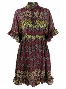 Dsquared2 floral print shirt dress - Black