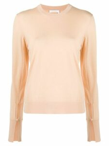 Chloé round-neck sweater - PINK