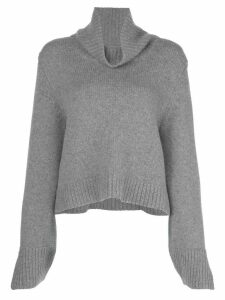 Khaite Marion relaxed-fit wool jumper - Grey