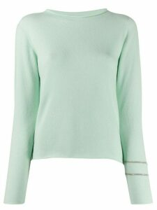 Fabiana Filippi boat-neck sweater - Green