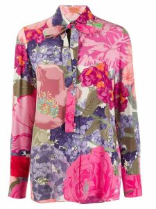 Valentino floral print shirt - PINK