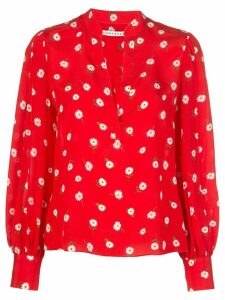 Alice+Olivia Avani blouse - Red