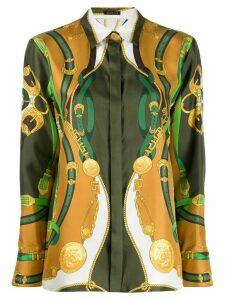 Versace Barocco Rodeo print shirt - Green