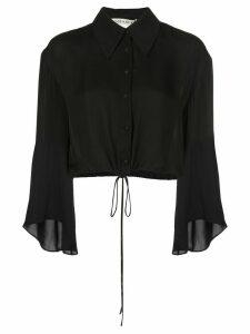 Alice+Olivia Larken shirt - Black