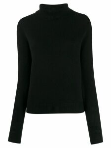 Joseph cashmere roll-neck jumper - Black