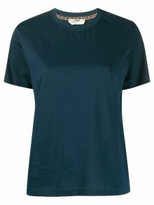 Fendi FF sleeve T-shirt - Blue