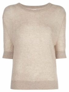 Khaite Dianna relaxed-fit wool jumper - Grey
