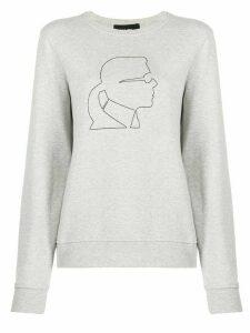 Karl Lagerfeld Karl Kameo sweatshirt - Grey