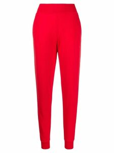 Karl Lagerfeld jersey track pants - Red
