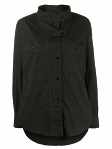 Isabel Marant Étoile long-sleeve oversized shirt - Black