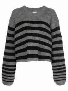 Khaite Dotty striped wool jumper - Grey