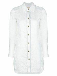 Khaite Lemay wrinkled shirt - White