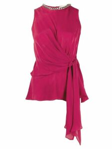 Michael Michael Kors draped top - PINK