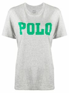 Polo Ralph Lauren logo print T-shirt - Grey