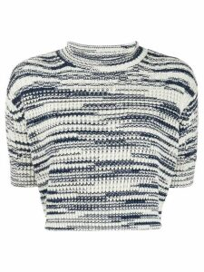 See by Chloé fine knit jumper - White