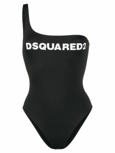 Dsquared2 Beachwear one shoulder one-piece - Black