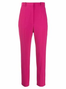 Alexander McQueen cropped tailored trousers - PINK