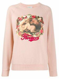 Fiorucci Sleepy Cherubs sweatshirt - PINK