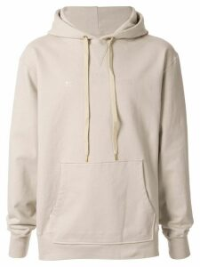 Makavelic Eye For Eye print hoodie - NEUTRALS