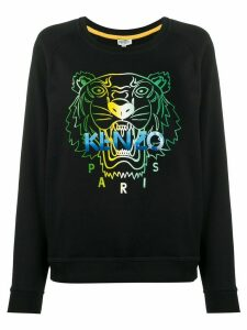 Kenzo tiger head-print sweatshirt - Black