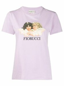 Fiorucci vintage angels T-shirt - PURPLE