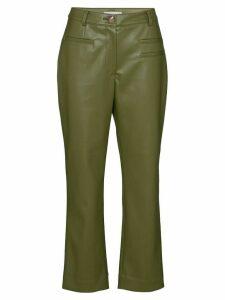 Rejina Pyo Finley cropped trousers - Green