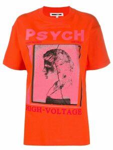 McQ Alexander McQueen graphic print T-shirt - ORANGE