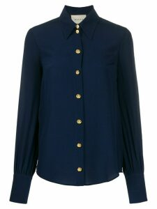 Gucci anchor button shirt - Blue