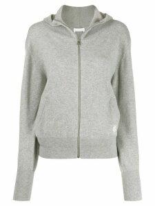 Chloé zip front hoodie - Grey