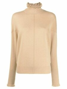 Chloé polo neck jumper - NEUTRALS