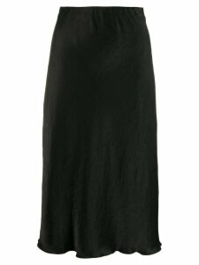 Nanushka high-waisted mid-length skirt - Black