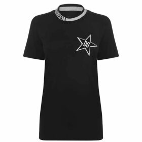 Dolce and Gabbana Dolce And Gabbana Star Stripe T Shirt