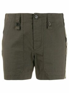 Zadig & Voltaire Step military shorts - Green