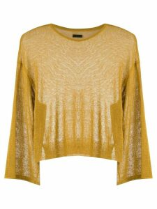 Osklen knitted linen blouse - Yellow