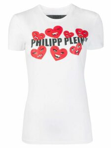 Philipp Plein Love Plein slim-fit T-shirt - White