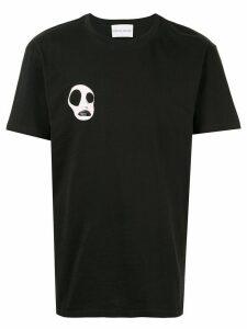 Strateas Carlucci artwork crew neck T-shirt - Black