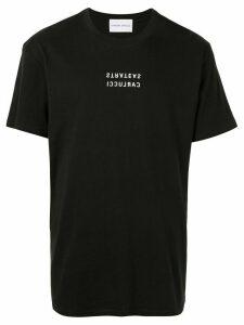 Strateas Carlucci signature print T-shirt - Black