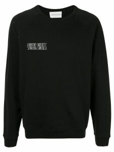 Strateas Carlucci artwork printed sweatshirt - Black