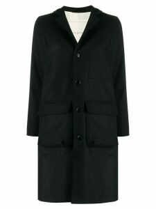 Toogood The Photographer single-breasted coat - Black