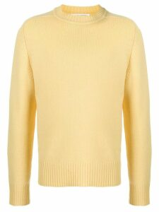 Extreme Cashmere oversized long-sleeved jumper - Yellow