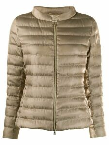 Herno padded puffer jacket - GOLD