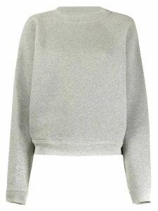 Isabel Marant Étoile plain boxy sweatshirt - Grey