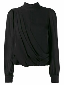 Michael Michael Kors draped blouse - Black