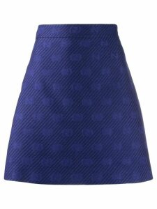 Gucci Diagonal GG stripe A-line skirt - PURPLE