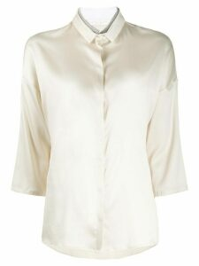 Fabiana Filippi buttoned shirt - NEUTRALS