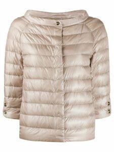 Herno puffer jacket - NEUTRALS