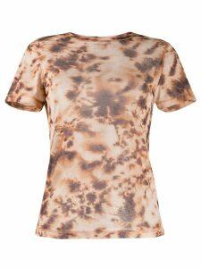 Nanushka Guy tie-dye print T-shirt - NEUTRALS