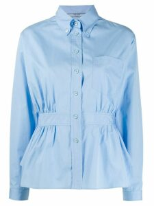Prada peplum waist shirt - Blue