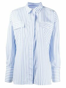 Essentiel Antwerp Void striped shirt - Blue